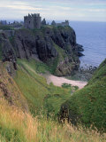 Dunnotar Castle Dating from the 14th Century  Near Stonehaven  Aberdeenshire  Scotland  UK
