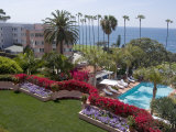 View from the Hotel La Valenica Overlooking La Jolla  Near San Diego  California  USA