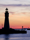 Buffalo Lighthouse  Buffalo Port  New York State  United States of America  North America