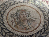 Mosaic  at the Museum of Chemtou  Tunisia  North Africa  Africa