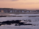 Stonehaven  Sunset  Aberdeenshire  Scotland  United Kingdom  Europe