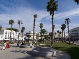 Grand Socco  Centre of Old City  Near the Medina  and Site of the Roman Forum  Tangiers  Morocco