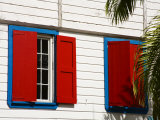 Window Shutters  St Johns  Antigua Island  Antigua and Barbuda  Leeward Islands  West Indies