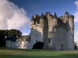 Castle Fraser  a 16th Century Castle  the Grandest of the Castles of Mar  Aberdeenshire  Scotland