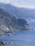 Coastline and Highway 1  Big Sur  California  United States of America  North America