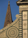 Detail of Santa Maria Novella Church  Florence  Tuscany  Italy  Europe