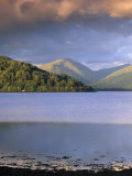 Loch Fyne from Inveraray  Argyll and Bute  Scotland  United Kingdom  Europe
