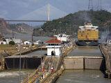 Pedro Miguel Locks  Panama Canal  Panama  Central America