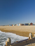 Beach Huts  Hayling Island  Hampshire  England  United Kingdom  Europe
