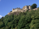 Stirling Castle  Atop Castle Hill  from the Southwest  Stirling  Scotland  United Kingdom  Europe