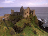 Dunluce Castle  Antrim Coast  Near Portrush  County Antrim  Ulster  Northern Ireland  UK