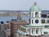 19th Century Clock Tower  One of the City's Landmarks  Halifax  Nova Scotia  Canada  North America