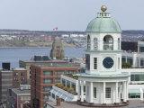 19th Century Clock Tower  One of the City's Landmarks  Halifax  Nova Scotia  Canada  North America