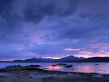Black Cuillins Range from the Shores of Loch Eishort  Isle of Skye  Inner Hebrides  Scotland