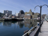 Harbour Walk  Halifax  Nova Scotia  Canada  North America