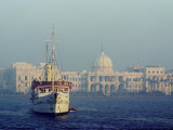 Royal Palace and Yacht  Alexandria  Egypt  North Africa  Africa