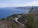 Cabot Trail  Cape Breton Highlands National Park  Cape Breton  Nova Scotia  Canada  North America