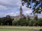 Glasgow University Dating from the Mid-19th Century  Glasgow  Scotland  United Kingdom  Europe