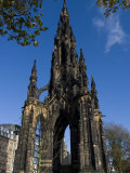 Walter Scott Memorial  Edinburgh  Scotland  United Kingdom  Europe