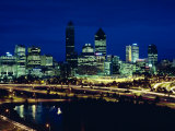 Perth City Skyline  Western Australia  Australia  Pacific