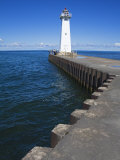 Outer Sodus Lighthouse  Greater Rochester Area  New York State  USA