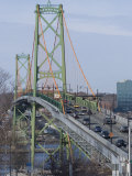Macdonald Bridge  Halifax-Dartmouth  Nova Scotia  Canada  North America