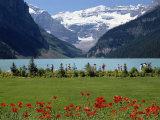 Lake Louise  Banff National Park  UNESCO World Heritage Site  Rocky Mountains  Alberta  Canada