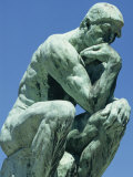 Thinker  by Rodin  Musee Rodin  Paris  France  Europe