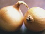 Close-Up of Two Onions