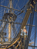 Hms Victory  Flagship of Admiral Horatio Nelson  Portsmouth  Hampshire  England  UK
