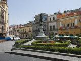 Plaza De La Paz in Guanajuato  a UNESCO World Heritage Site  Guanajuato  Guanajuato State  Mexico