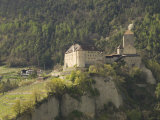 Castle at Dorf Tyrol  Sud Tyrol  Italy  Europe