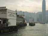 Tsim Sha Tsui Star Ferry Terminal  Kowloon  Hong Kong  China