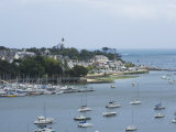 Benodet  a Popular Sailing Resort on the River Odet Estuary  Southern Finistere  Brittany  France