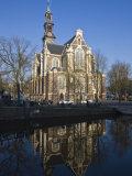 Westerkerk Church  Built in 1631  Amsterdam  Netherlands  Europe
