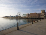 Navy Pier  Lake Michigan  Chicago  Illinois  United States of America  North America