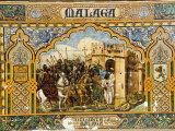 Plaza De Espana Erected for the 1929 Exposition  Parque Maria Luisa  Seville  Andalusia  Spain