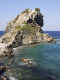 Church of Agios Ioannis  Used in the Film Mamma Mia  Skopelos  Sporades Islands  Greece