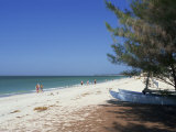 Beach North of Longboat Key  Anna Maria Island  Gulf Coast  Florida  USA