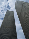 World Trade Center Twin Towers  Destroyed 11 September 2001  Manhattan  New York City  USA