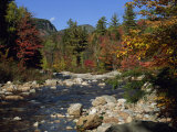 Swift River  Kangamagus Highway  White Mountains National Forest  New Hampshire  USA