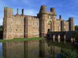 Herstmonceux Castle  Sussex  England  United Kingdom  Europe