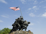 Iwo Jima Memorial  Arlington  Virginia  United States of America  North America