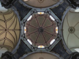 Interior Dome of the Church of Iglesia De San Diego in Guanajuato  Guanajuato State  Mexico