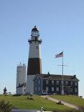Montauk Point Lighthouse  Montauk  Long Island  New York State  USA