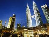 Petronas Twin Towers  Kuala Lumpur  Malaysia  Southeast Asia
