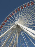 Ferris Wheel at Navy Pier  Chicago  Illinois  United States of America  North America