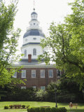 State Capitol Building  Annapolis  Maryland  United States of America  North America