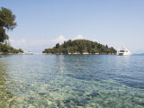 Island of Skorpios Owned by the Onassis Family  Near Lefkada  Ionian Islands  Greece