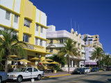 Leslie Hotel  Ocean Drive  Art Deco District  South Beach  Miami Beach  Miami  Florida  USA